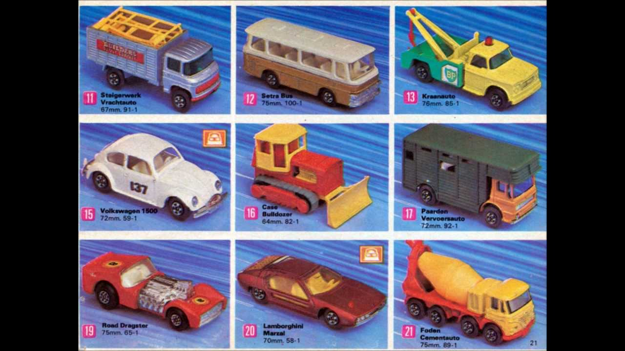 Lesney's Matchbox Catalogue Dutch Edition 1971
