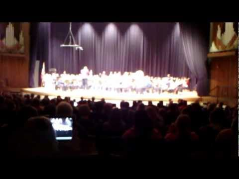 Class D All State Symphonic Band 2013  A Shaker Gift Song