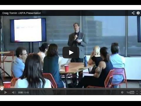 UXPA Usability Testing Training Session Highlights by Craig Tomlin
