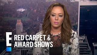 Did Tom Cruise or John Travolta Reach out to Leah Remini? | E! Live from the Red Carpet