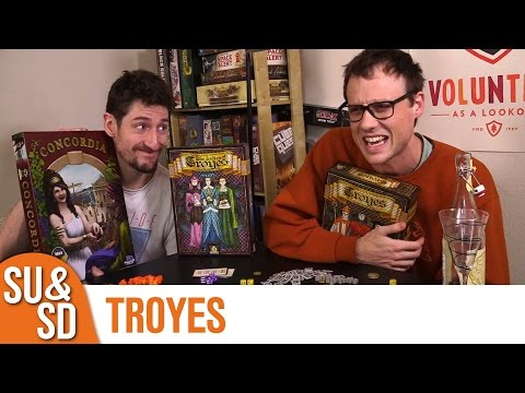 Troyes - Shut Up & Sit Down Review