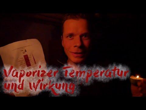 Vaporizer Temperatur und Wirkung + geheimes Dokument