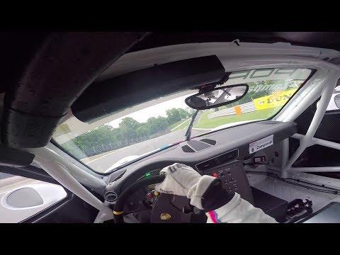 VISOR CAM: Onboard Lap Oulton Park Porsche 911 GT3 Carrera Cup