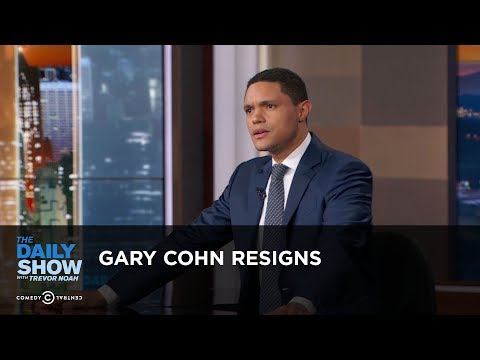 Gary Cohn Resigns - Between the Scenes: The Daily Show