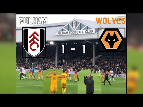 Fulham 1 - 1 Wolves| My Match Highlights| (26/12/2018)|