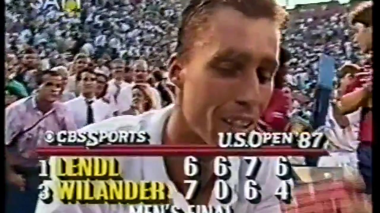 1987 Ivan Lendl Us Open 1987 Youtube