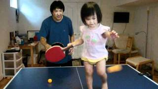 Playing Table Tennis With Joy
