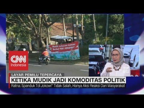 """Ratna Sarumpaet Nilai Orang """"Happy"""" dengan """"Tolnya Jokowi"""""""