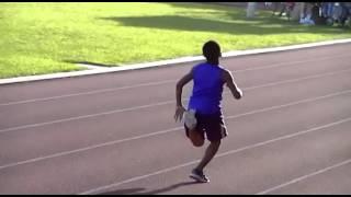 Fastest Kid: Jason Brown 100m dash (MUST WATCH!!!)