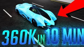 $360,000 IN 10 MINUTES?! - HOW TO GET MONEY FAST IN VEHICLE SIMULATOR ROBLOX! WORKING 2019