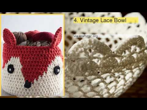 Top 10 Free Crochet Baskets And Bowls Patterns Youtube
