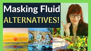 Watercolor Masking Fluid Alternatives (10 Professional Tricks!)