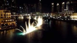 Dubai Fountain - 'Mon Amour' (Concierto de Aranjuez) HD