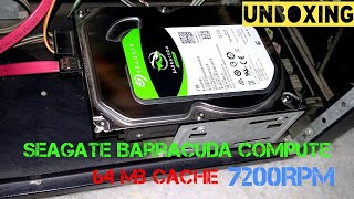 Seagate Barracuda Compute 3.5inch Desktop Hard Drive Unboxing 2017 | Hard Disk