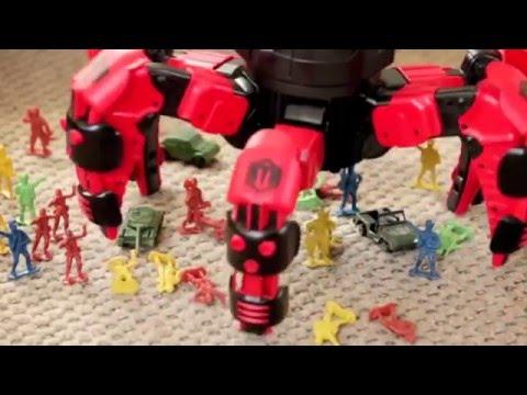 Боевой робот на радиоуправлении