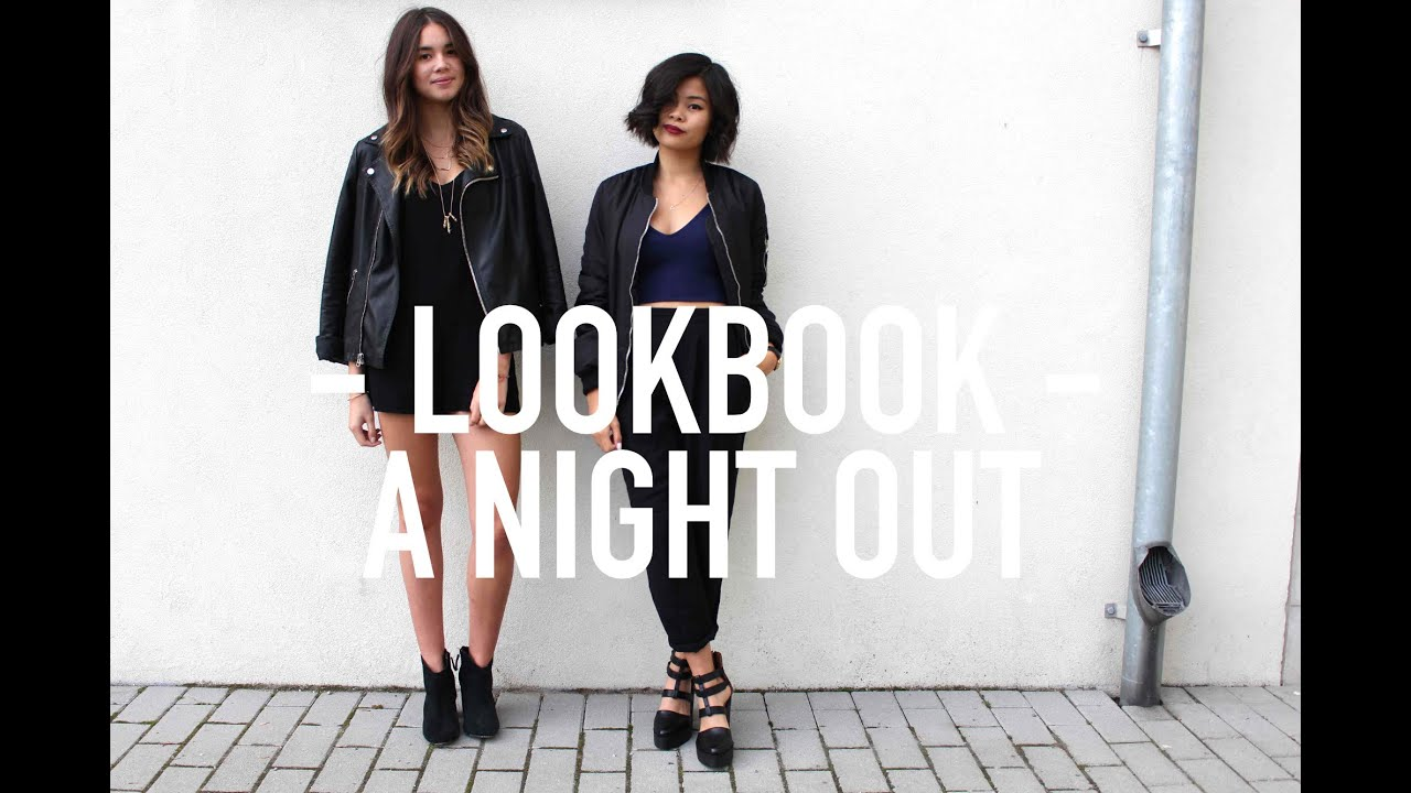 lookbook a night out   youtube