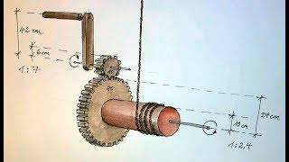 The wooden winch