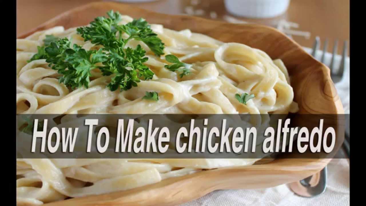 How To Make Chicken Alfredoone Pot Recipe