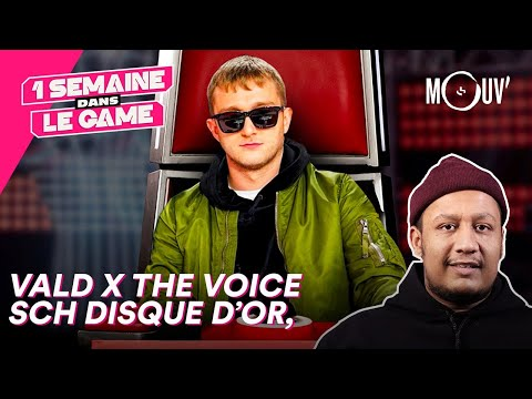 Youtube: Vald x The Voice, SCH disque d'or