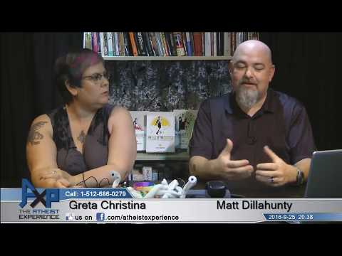 Atheist Experience 20.38 with Matt Dillahunty and Greta Christina