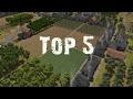 TOP 5 DES JEUX DE SURVIE-GESTION !
