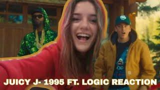 JUICY J - 1995 FT. LOĠIC MUSIC VIDEO REACTION