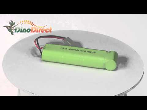 2/3A Ni-MH Rechargeable Battery Pack 8.4V 1100mAh  from Dinodirect.com