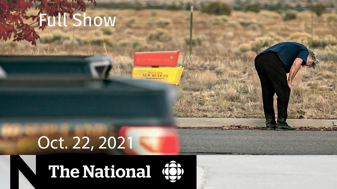 Download CBC News: The National   Alec Baldwin prop gun shooting, Kids' vaccines, Supply chain woes
