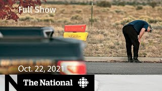 CBC News: The National | Alec Baldwin prop gun shooting, Kids' vaccines, Supply chain woes