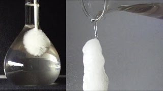 Chemistry experiment 43 - Fun with sodium acetate: