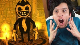 PODREMOS INVOCAR AL HERMANO DE BENDY !?! - Bendy And The Ink Machine + Hello neighbor + FNAF