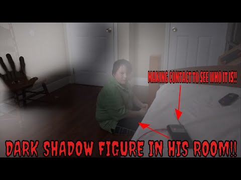 DARK SHADOW PERSON IN OUR HOME!!