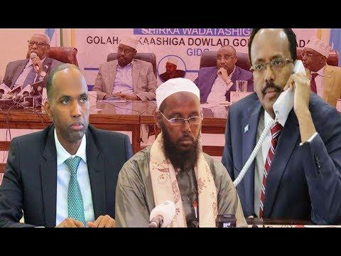 WARAR Deg Deg ah: Villa Somalia oo dhabar Jebisay M/Goboleedyada,  Halista Amni ee Shariif iyo..