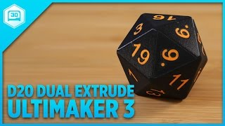 D20 On Ultimaker 3 Dual Extruder