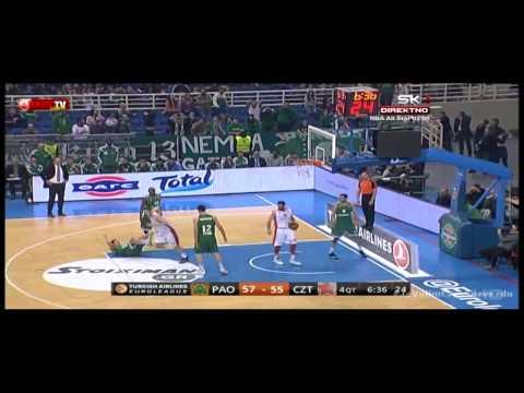Panathinaikos Athens - Crvena zvezda Telekom | Poeni Jenkinsa