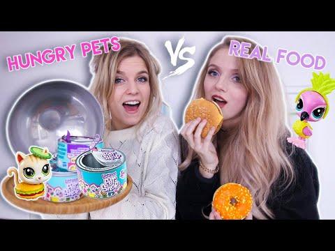 HUNGRY PETS vs. REAL FOOD CHALLENGE
