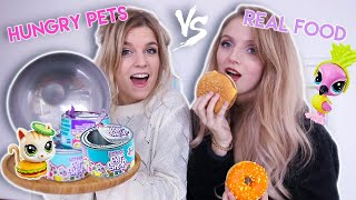 HUNGRY PETS vs. REAL FOOD CHALLENGE