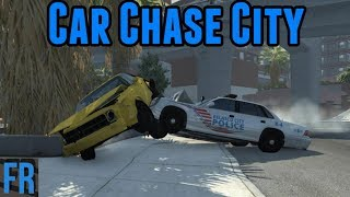 BeamNG Drive - Car Chase City