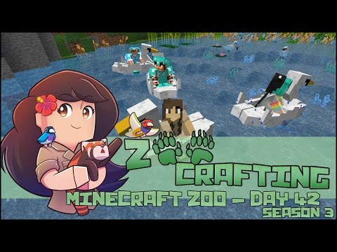 The ZooCrafters Present - Swan Paddle Boat Ballet! 🐘 Zoo Crafting: Episode #42 🐘 Season 3