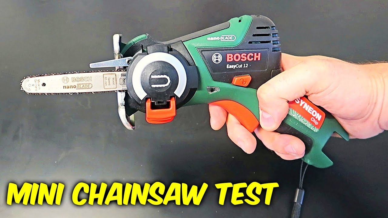 Smallest Chainsaw in the World!