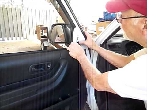 2000 Honda Cr V Side Mirror Replacement Youtube