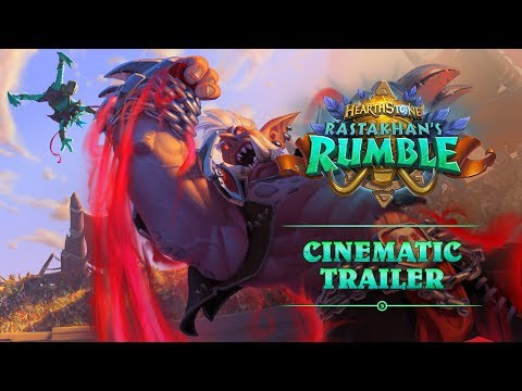 Rastakhan's Rumble Cinematic Trailer | Hearthstone