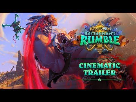 Rastakhan's Rumble Cinematic Trailer | Hearthstone