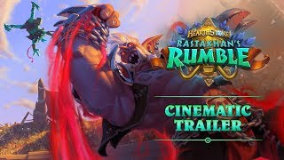 Rastakhan's Rumble Cinematic Trailer | Hearthstone thumbnail