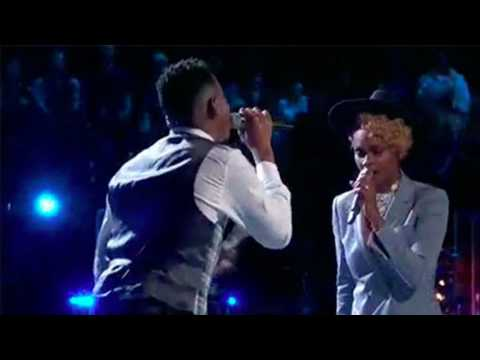 Chris Blue, Vanessa Ferguson sings 'If I Ain't Got You' duet on The Voice 2017 Top 8 Semifinals