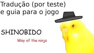 Baixar Tradução para jogo Shinobido Way of the Ninja