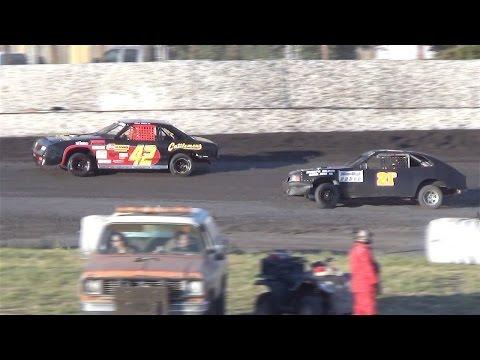 Mini Stock MAIN  6-4-16  Petaluma Speedway