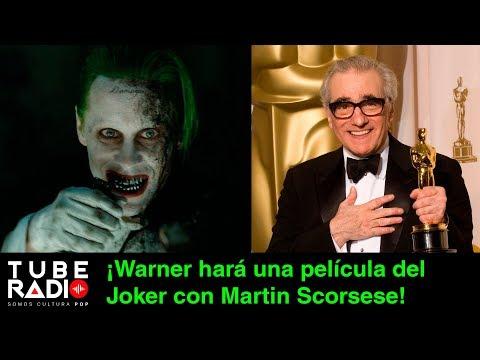 ¡Warner hará una película del Joker con Martin Scorsese! | Tube Radio