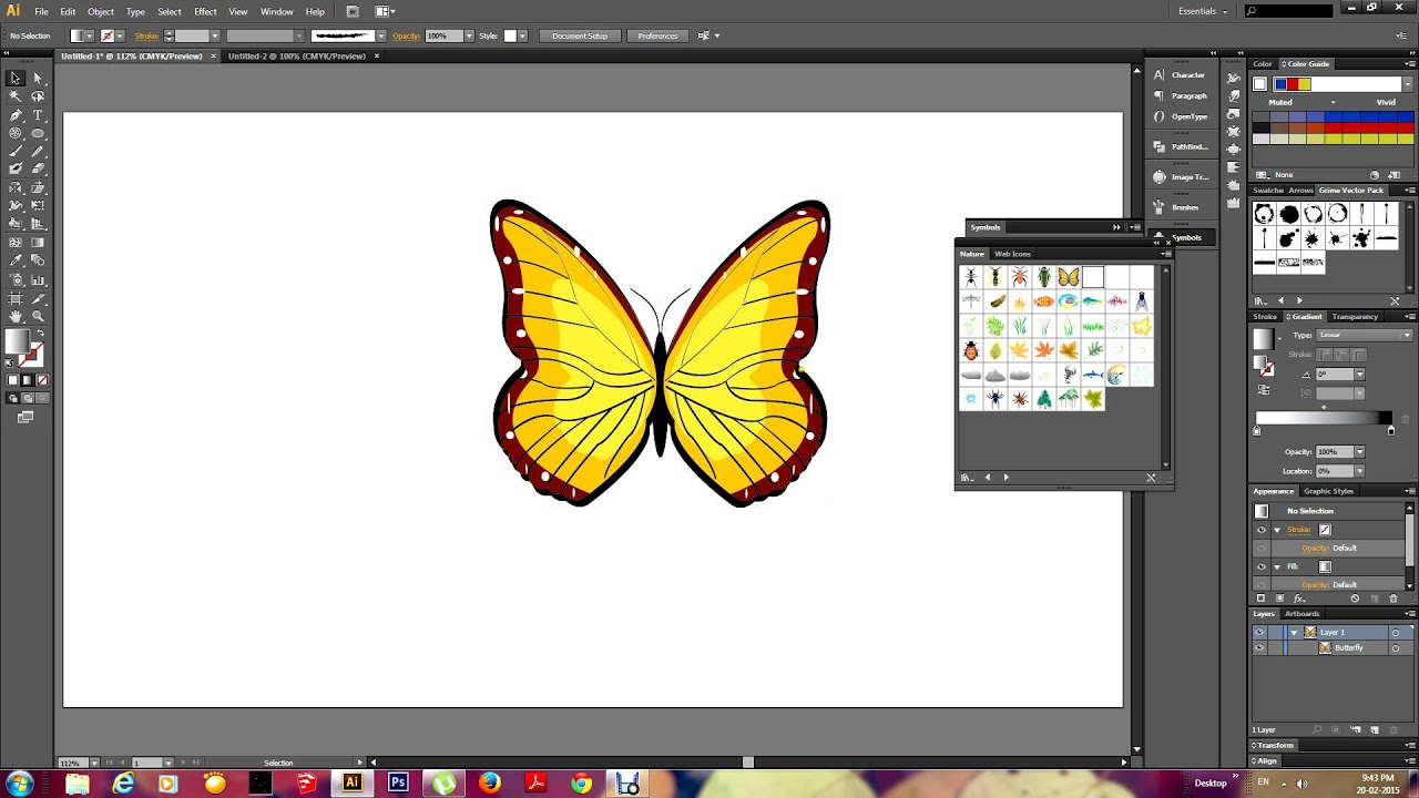 how to use paint tool illustrator
