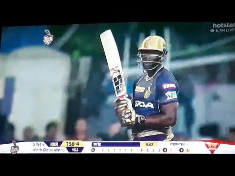 Andre Russell Innings Vs Srh | Kkr Vs Srh 2nd T20 Highlights 2019 - Vivo IPL 2019